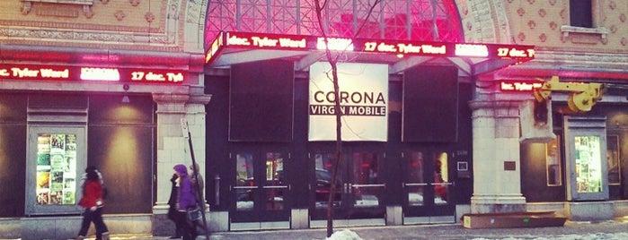 Théâtre Corona is one of Patrice'nin Beğendiği Mekanlar.