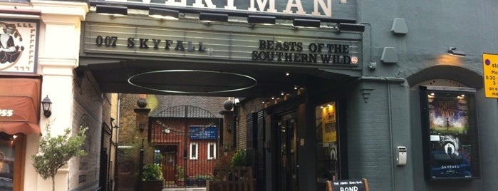 Everyman Cinema is one of Hampstead.