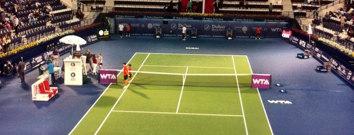 Dubai Duty Free Dubai Tennis Championships is one of Visited.