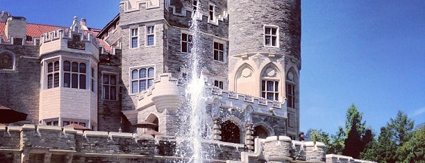 Casa Loma is one of T.O..