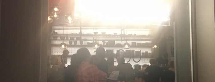 Jeju Noodle Bar is one of Locais curtidos por Mei.