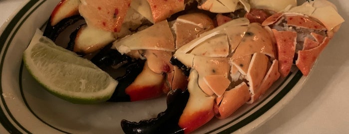 Joe's Stone Crab is one of Orte, die Mei gefallen.