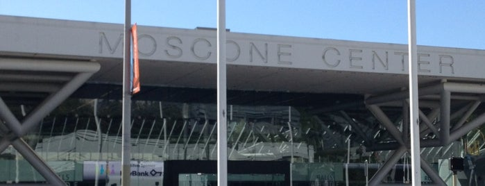 Moscone Center is one of SFO.