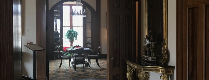 Blandwood Mansion is one of Best Places to Check out in United States Pt 1.