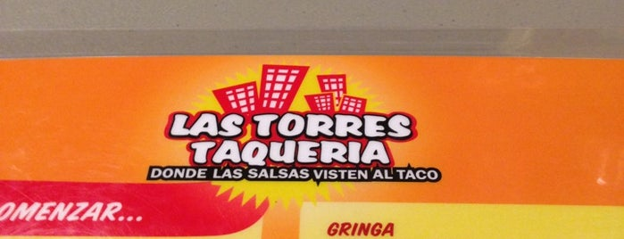 Taqueria Las Torres is one of comida.