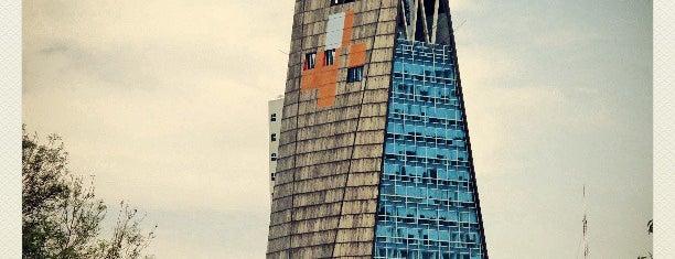 Torre Banobras is one of Rascacielos en la Ciudad de México..