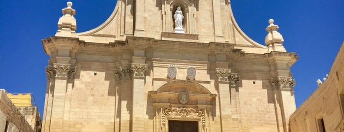 Gozo Cathedral is one of Malte to do.