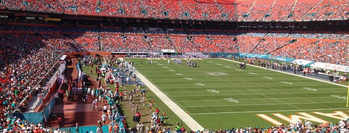 Hard Rock Stadium is one of Big Matchs's Today!.