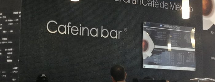 Café Punta Del Cielo is one of Locais curtidos por Maria.
