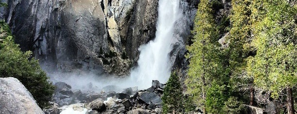 Lower Yosemite Falls is one of Yosemite & Mammoth.