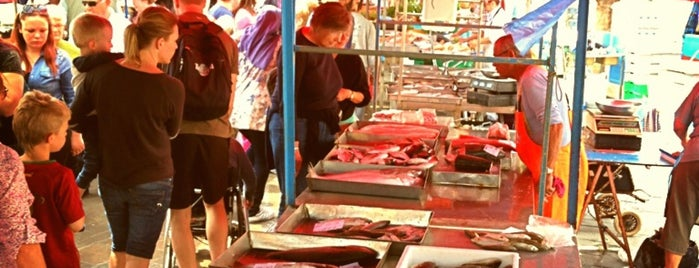 Marsaxlokk Fish Market is one of Orte, die Pelin gefallen.