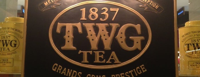 TWG Tea Salon & Boutique is one of Kopi Places.