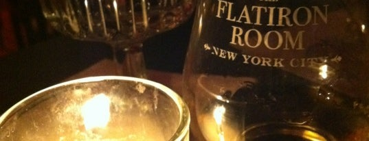 The Flatiron Room is one of Drinkees.
