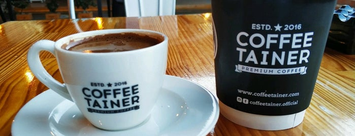 Coffeetainer is one of Antalya.