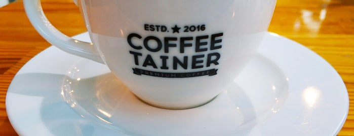 Coffeetainer is one of Banuさんのお気に入りスポット.