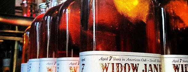 Widow Jane Distillery is one of Bars Mixology.