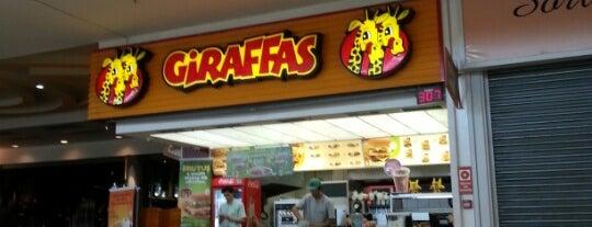 Giraffa's is one of Locais curtidos por Anderson.