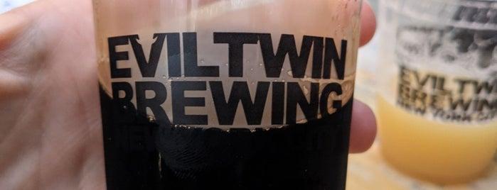 Evil Twin Brewing NYC is one of Lugares favoritos de Erik.