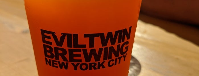 Evil Twin Brewing NYC is one of Explore your own neighborhood, jerk..