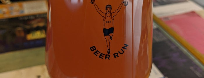 Beer Run NYC is one of Craft Beer and Taprooms NYC.