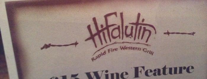 Hifalutin is one of Lugares guardados de Maggie.