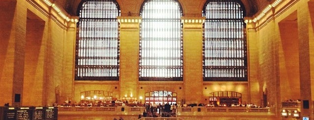 Grand Central Station is one of Big Apple (NY, United States).