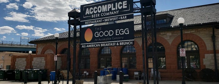 Accomplice Beer Company is one of Breweries I've Visited.