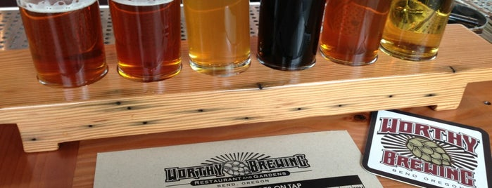 Worthy Brewing Company is one of Bend Trip.