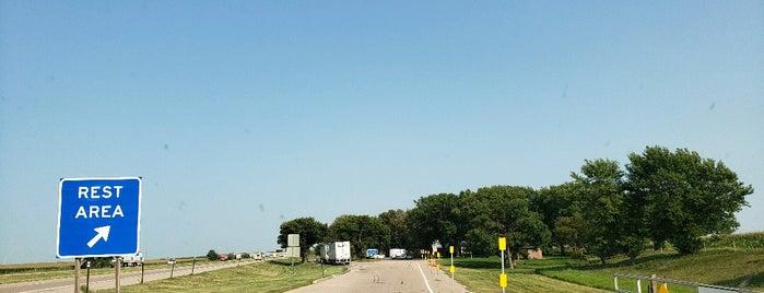 I-80 East Bound Rest Area is one of Tempat yang Disukai Cheri.