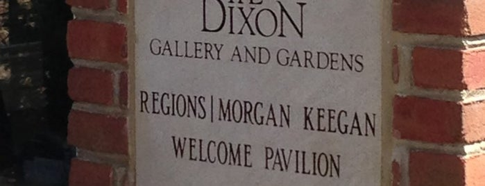 The Dixon Gallery and Gardens is one of Memphis.