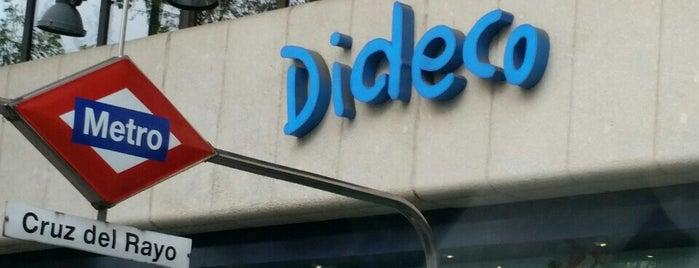 Dideco is one of Lugares favoritos de Juan.
