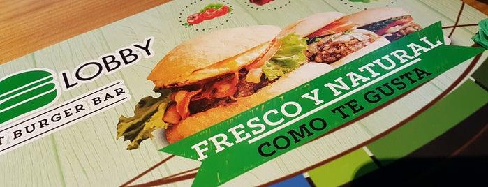 The Burger Lobby Corazon de Maria is one of Burguers.