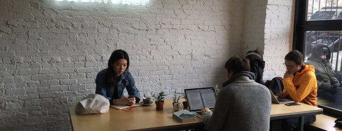 Sweatshop is one of Coffee and Wifi.