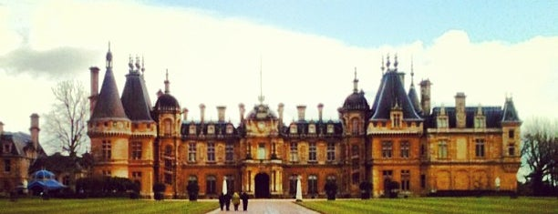 Waddesdon Manor is one of my favorite.