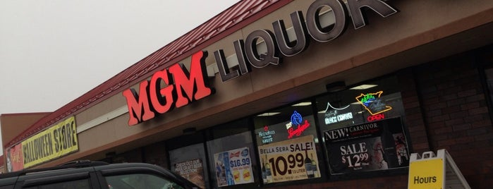 MGM Liquor Warehouse is one of more to do list.
