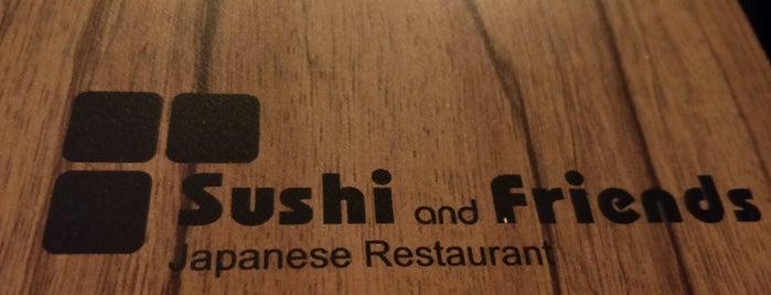 Sushi and Friends is one of Lieux qui ont plu à Jana.