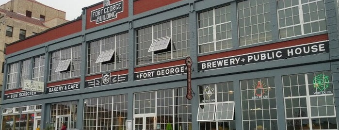 Fort George Brewery & Public House is one of Oregon - The Beaver State (1/2).