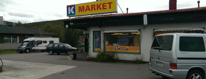 K-Market Hillajänkä is one of Lappi.