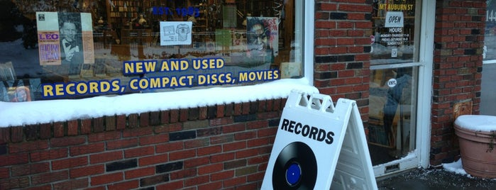 Planet Records is one of Favorite Places in New England.
