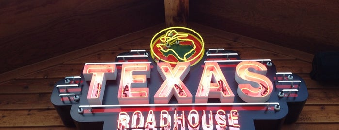 Texas Roadhouse is one of Favorites.