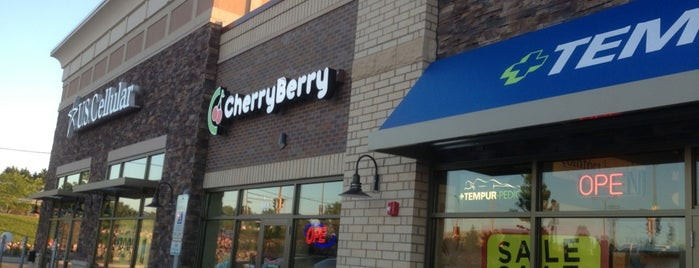 CherryBerry Yogurt Bar is one of Orte, die Gwen gefallen.