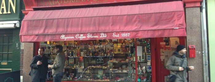 Algerian Coffee Stores is one of The best espressos.