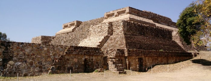 Monte Albán is one of Oaxaca.