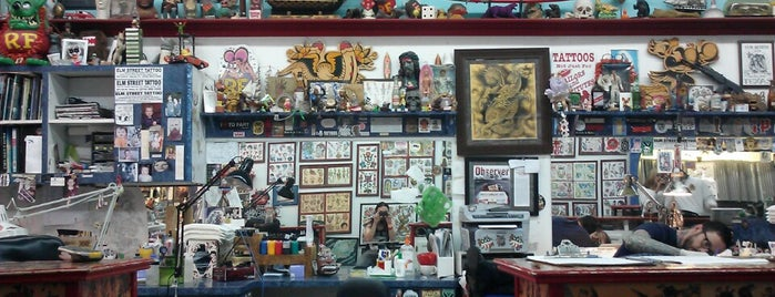 Elm Street Tattoo is one of Dallas Observer.