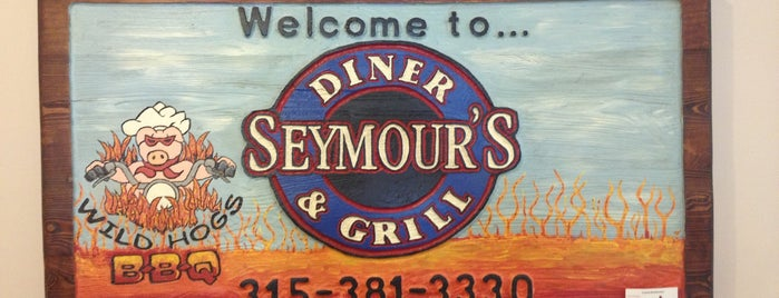 Seymour's Diner is one of Greasy Spoon Badge.
