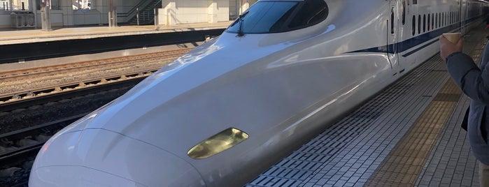 Shinkansen Toyohashi Station is one of Posti che sono piaciuti a Hideo.