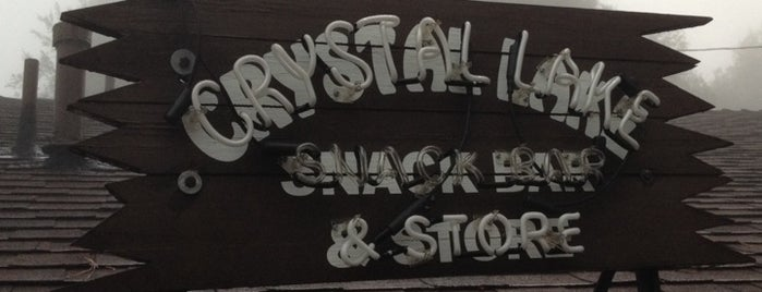 Crystal Lake Snack Bar and Trading Post is one of To-Do List.