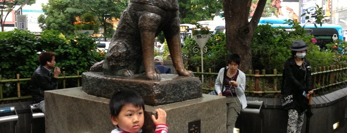 Hachiko Square is one of Dive into Tokyo.
