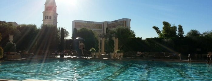 The Venetian Pool is one of Locais curtidos por Sebastian.