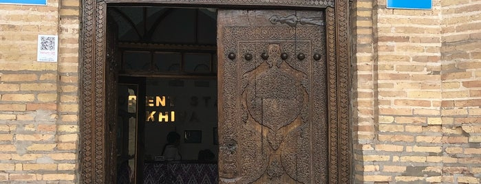 Orient Star Khiva is one of Lieux qui ont plu à Bike.
